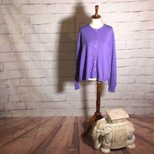 El Daws Cashmere Button Down Sweater Cardigan